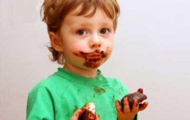 Sconfiggere le macchie di cioccolato