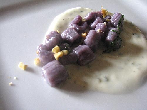Ricetta peruviana: gnocchetti di patate viola