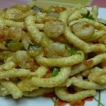 Pesto di zucchine con i passatelli