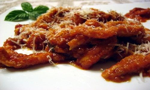 Ricette tradizionali: trippa alla fiorentina con bruschette