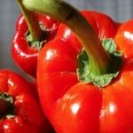 Riso al forno con peperoni per stimolare l'appetito