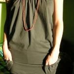 Top/vestito ricavato da una t-shirt