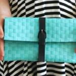 Come realizzare una pochette senza cucire