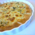 Crostata di zucchine e formaggio
