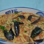 Zuppa di cozza, fagioli e cicatielli