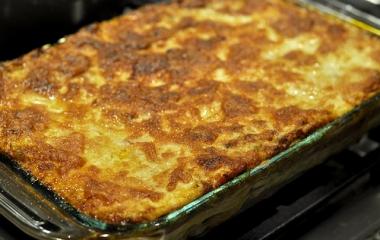 lasagna parmigiana