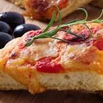 Pizza con esubero di pasta madre