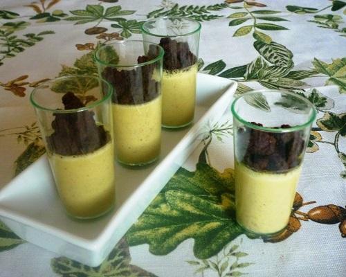 Crema pistacchi e crumble