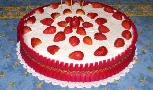 torta-fragole-panna